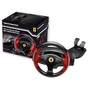 4.Thrustmaster Ferrari Red Legend Edition