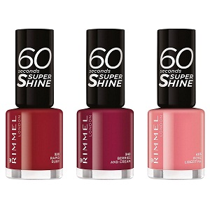 8. Rimmel London 60 Seconds Shine Promo