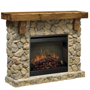 2.Dimplex Fieldstone Optiflame DF2608-EU