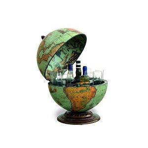 3.Minibar glob geografic Zoffoli Laguna
