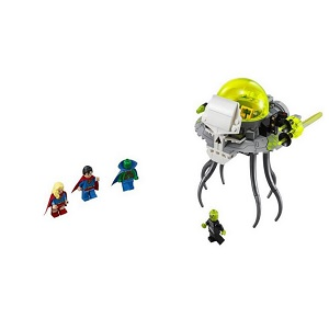 5. Joc de constructie Lego - Atacul lui Brainiac -