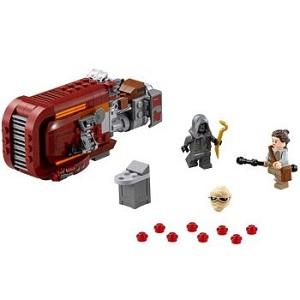 6. LEGO SW Rey's Speeder 75099