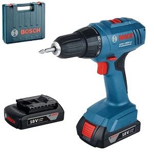 1.Bosch Professional GSR 1800-LI