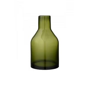 6.Vaza Moss Green (sticla, inalta)