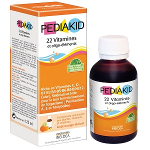 2. Pediakid 22 vitamines oligo-elements