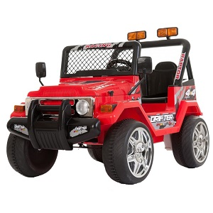 4.Drifter Jeep 4x4 (cu telecomanda, 12V, (pedale))