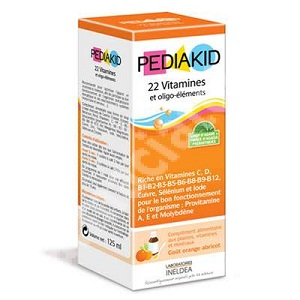 Pediakid 22 vitamines oligo-elements