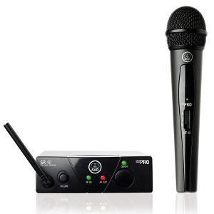 1.AKG WMS40 (wireless, vocal)