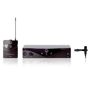 5.AKG PW-45 (wireless, profesional, lavaliera)