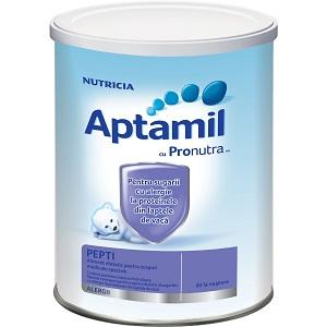 1. Lapte praf Nutricia Aptamil Pepti