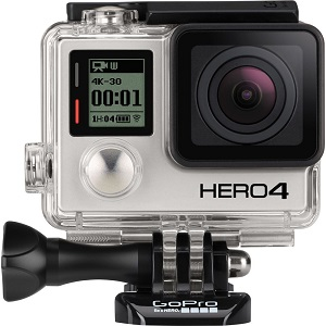 1.GoPro Hero 4 Adventure Edition (ultra hd)