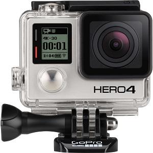 1.GoPro Hero 4 Adventure Edition (ultra hd)