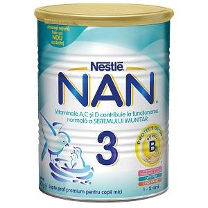 1.Lapte praf Nestle NAN 3