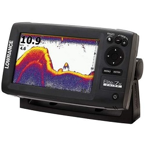 2.Lowrance Elite 7 CHIRP