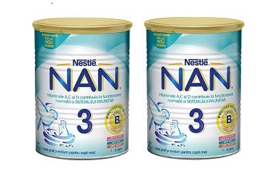 3.Lapte praf Nestle NAN 3