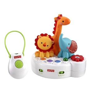8.Fisher-Price 4 in 1 Rainforest Friends (proiectie si muzica)
