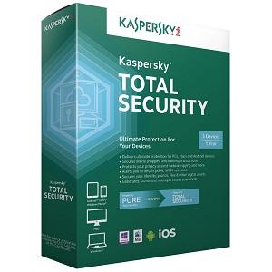 1. Kaspersky Total Security
