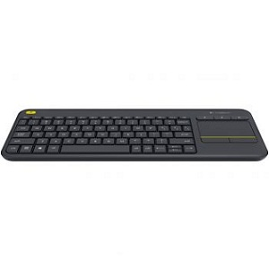 1. Logitech K400 Plus Dark