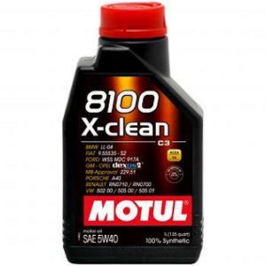 2. Motul 8100 X-clean