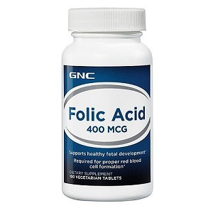 1.GNC Folic Acid