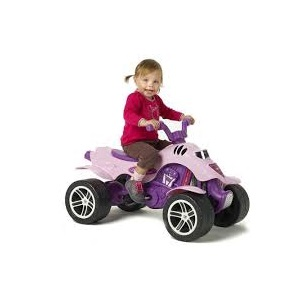 2.Falk Quad Princess(fara motor-cu pedale-3-7 ani)