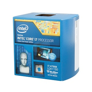 1.Intel Core i7-4790K