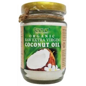 3.Jeeva Raw Organic Coconut Oil