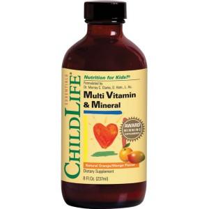 1.ChildLife Muti Vitamin & Mineral