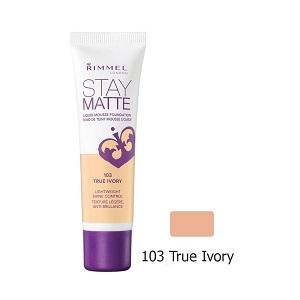 1.Rimmel Stay Matte 103