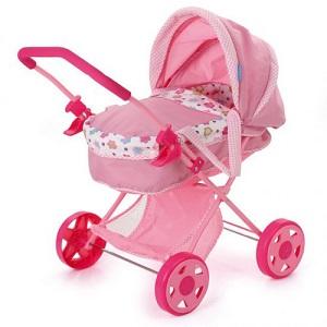 4.Hauck Diana Pram Spring Pink