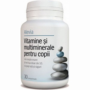 1.Alevia Vitamine si Multiminerale