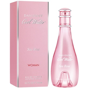3.Davidoff Cool Water Sea Rose