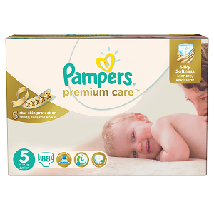 3.Pampers Premium Care 5 Mega Box