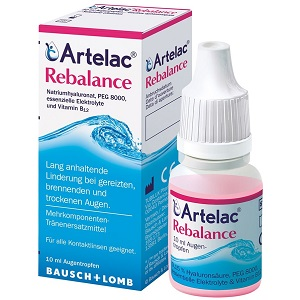 1. Bausch + Lomb Artelac Rebalance
