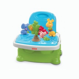 1. Fisher Price Busy Baby Booster