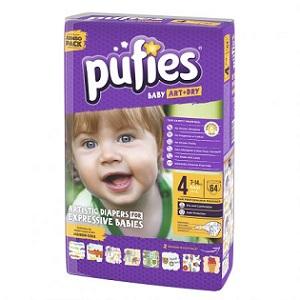 1. Pufies Baby Art 4 maxi jumbo pack
