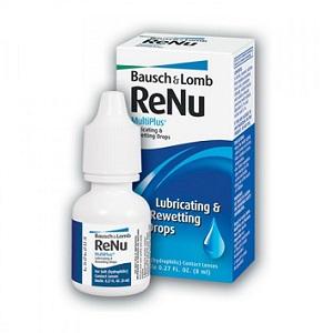 2. Bausch + Lomb Renu Lubricating & Rewetting Drops