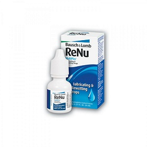 2. Bausch + Lomb Renu Lubrificating & Rewetting