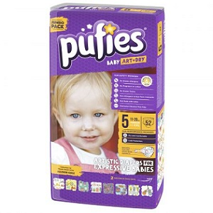 3. Pufies Baby Art junior jumbo pack 5