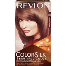 3.Revlon ColorSilk 50 Light Ash Brown