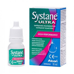 3.Systane Ultra Lubricant Eye Drops