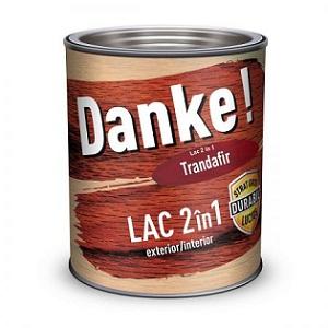 4.Lac colorat pentru lemn Danke 2 in 1 Trandafir 2.5l