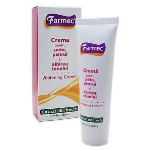 2.Farmec Crema pentru albirea tenului