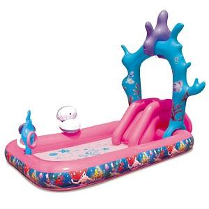 3.BestWay DisneyPrincess Waterslide