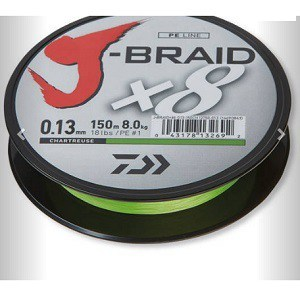 4.Daiwa J-Braid X8