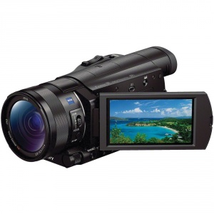 2-camera-video-sony-4k-fdrax100eb-negru